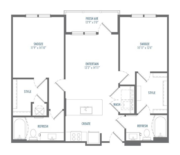B2 Alt 2 Floor Plan