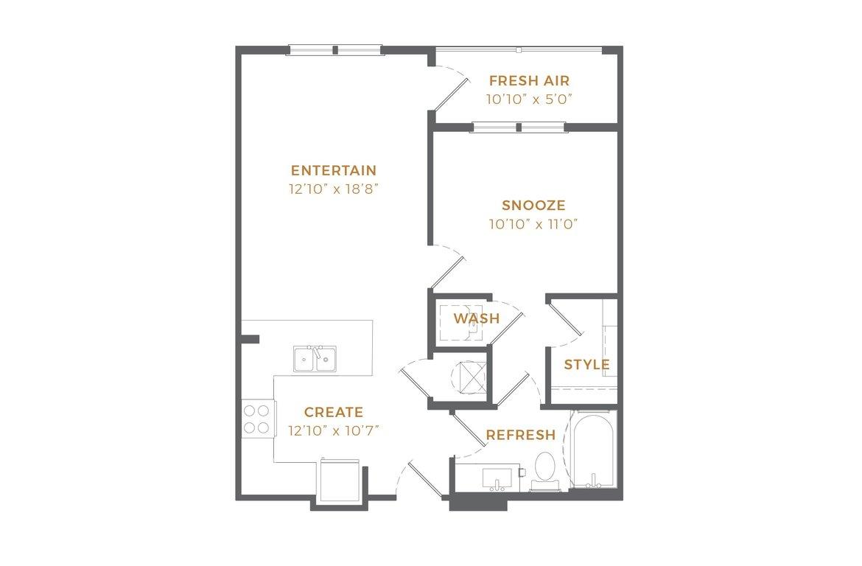 Phase II - A1 Alt 1 Floor Plan