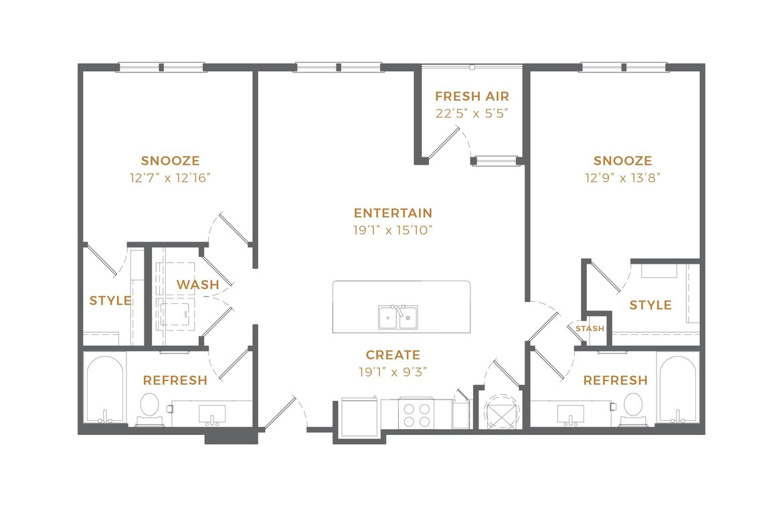 Phase II - B1 Alt 1 Floor Plan
