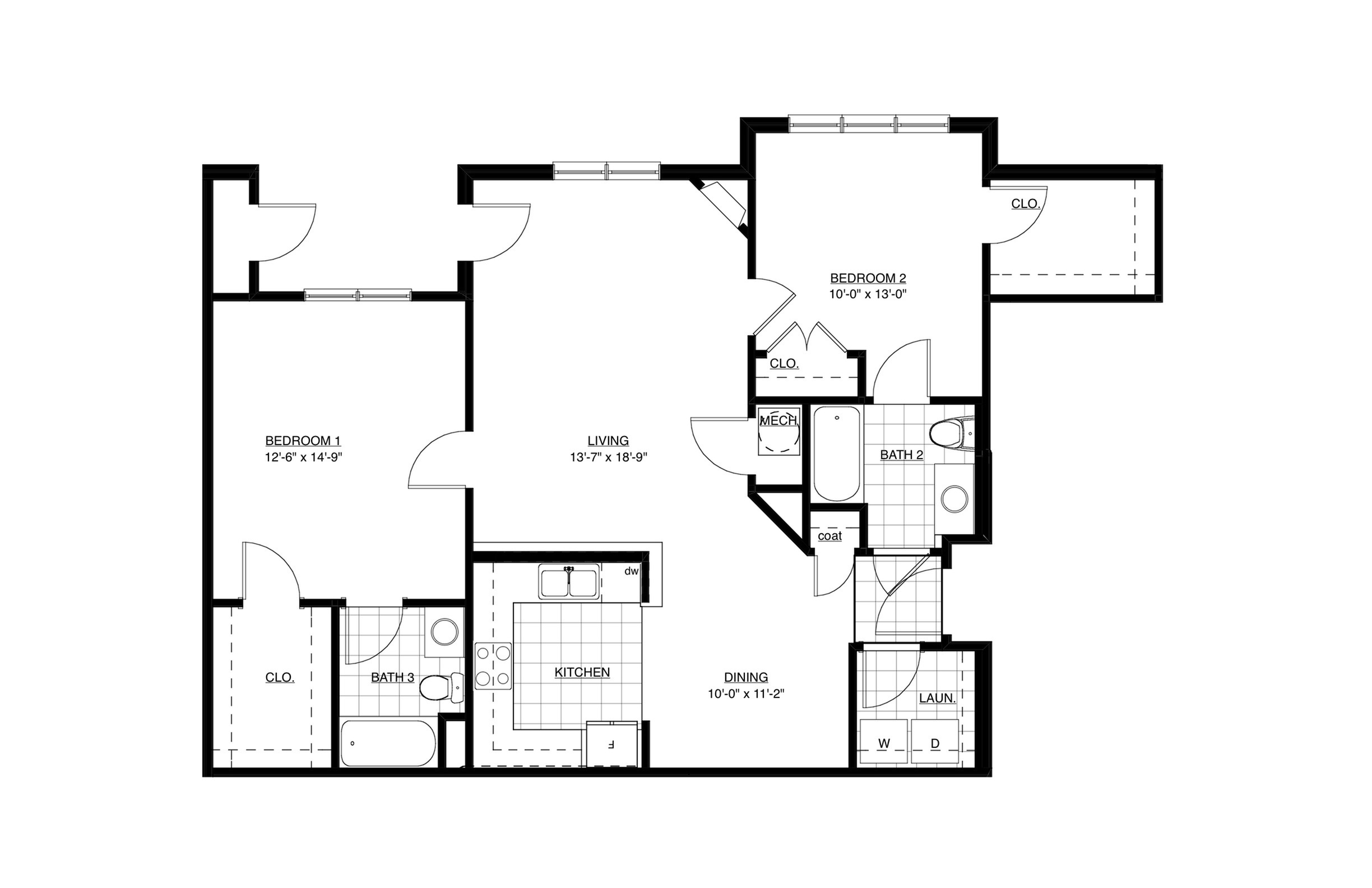 Southern Red Floor Plan Image