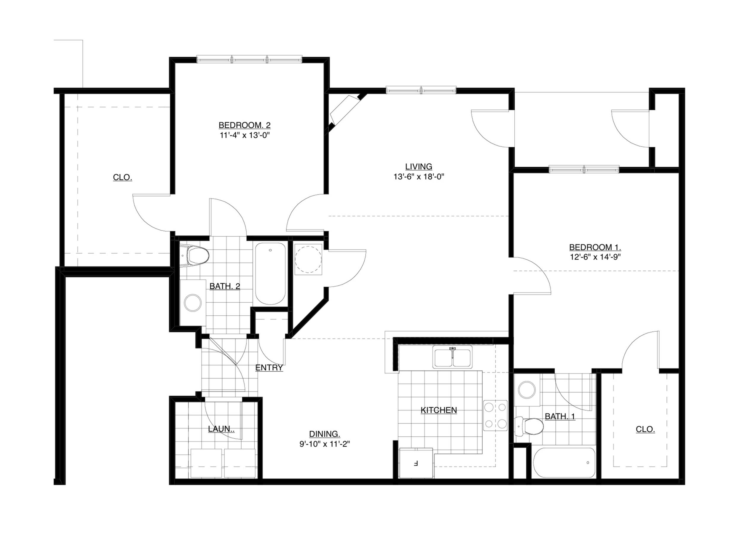 Overcup Floor Plan Image