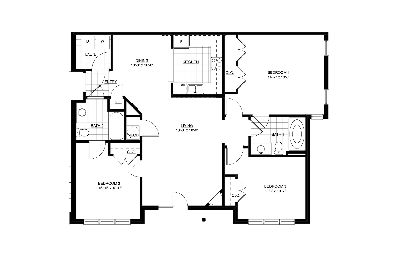 Chinkapen Floor Plan Image