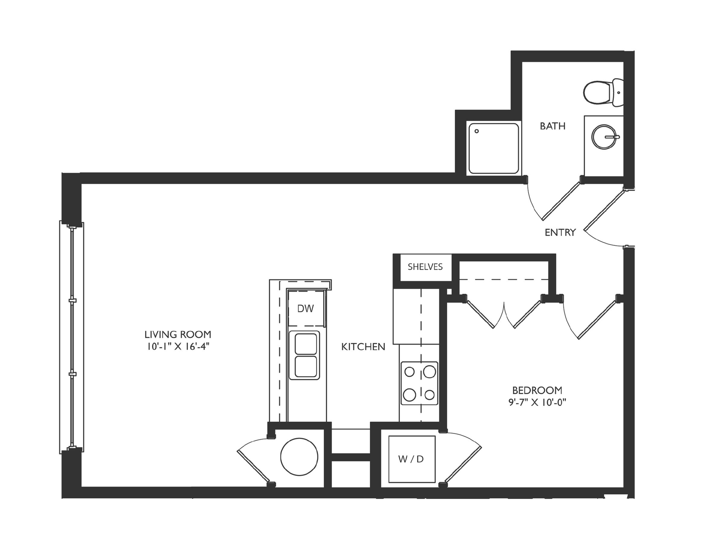 A2a Floor Plan Image