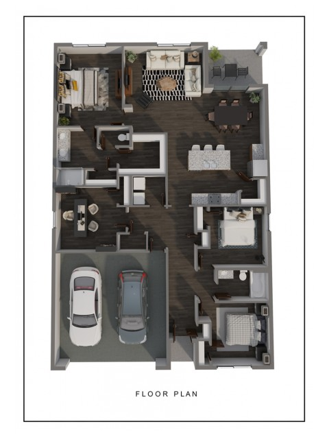 floor plan drawing for Cali