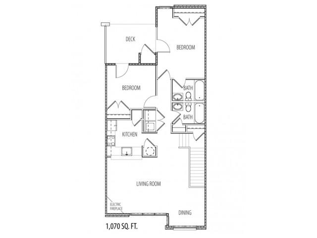 rendering of floor plan