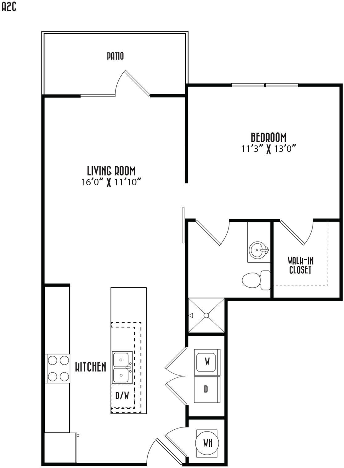 A2C Floor Plan Image