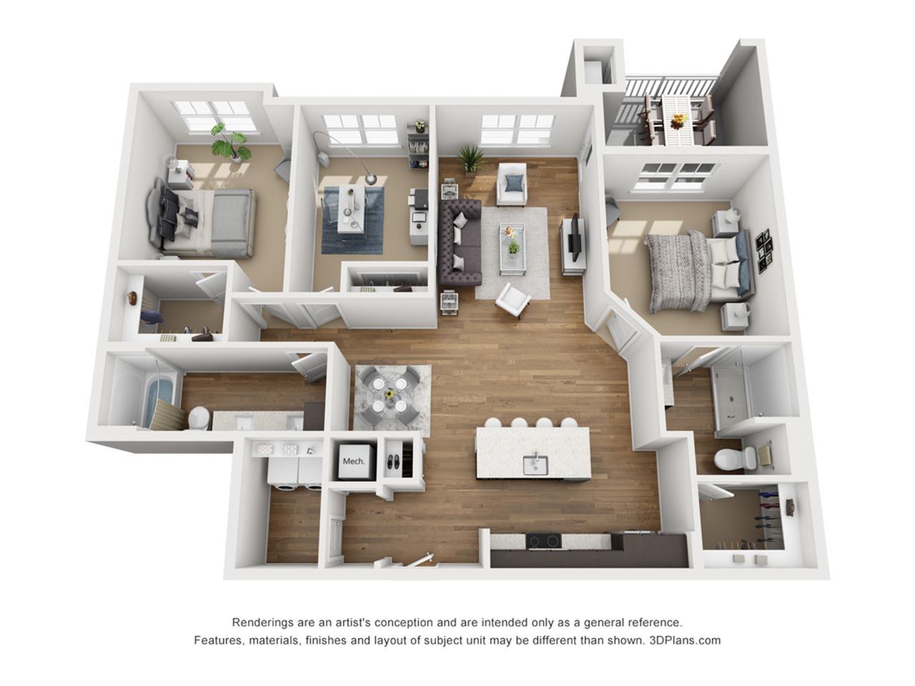 B8D Floor Plan Image