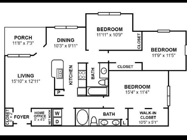 C1R2 Floor Plan Image