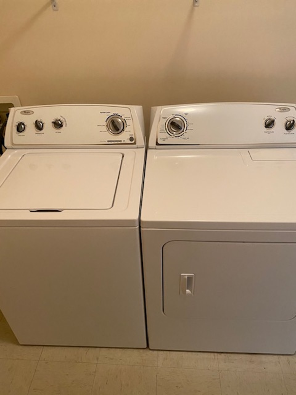 Washer & dryer in every unit.