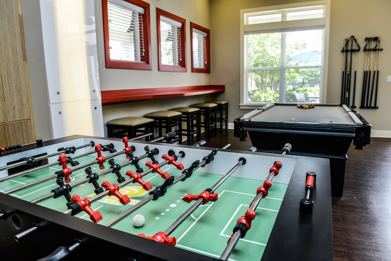 Image of Game Room with Billiards for Independence Place Prince George
