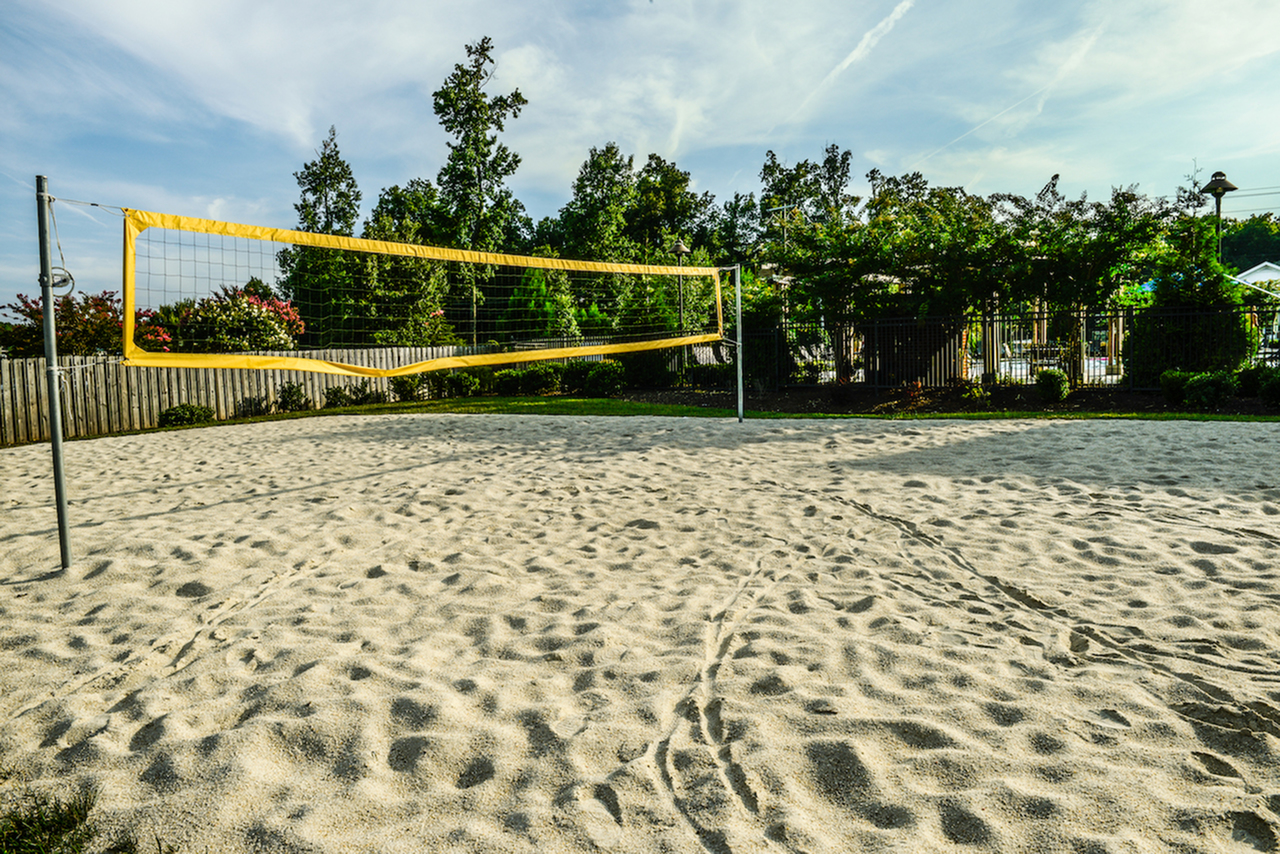 Image of Sand Volleyball Court for Independence Place Prince George