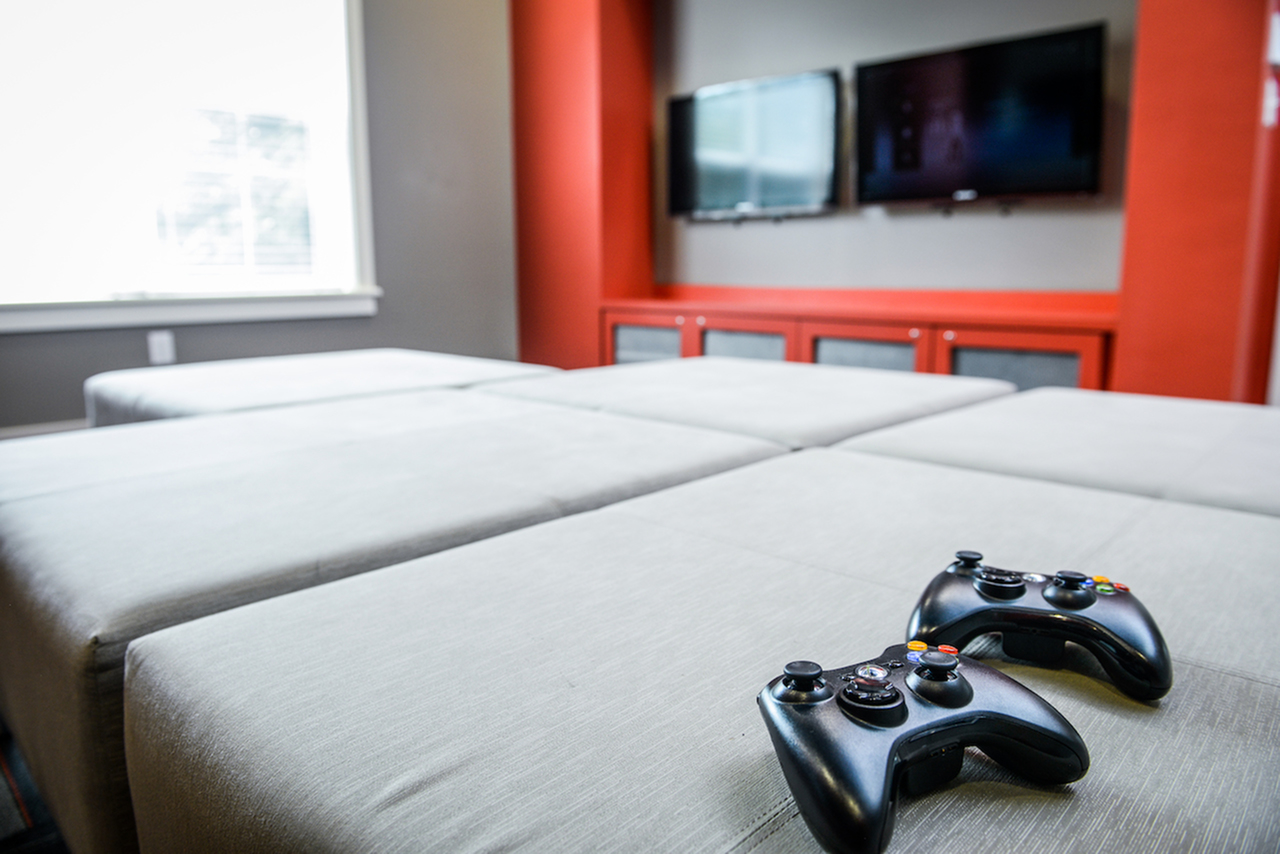 Image of The Zone   Gaming Stations for Independence Place Prince George