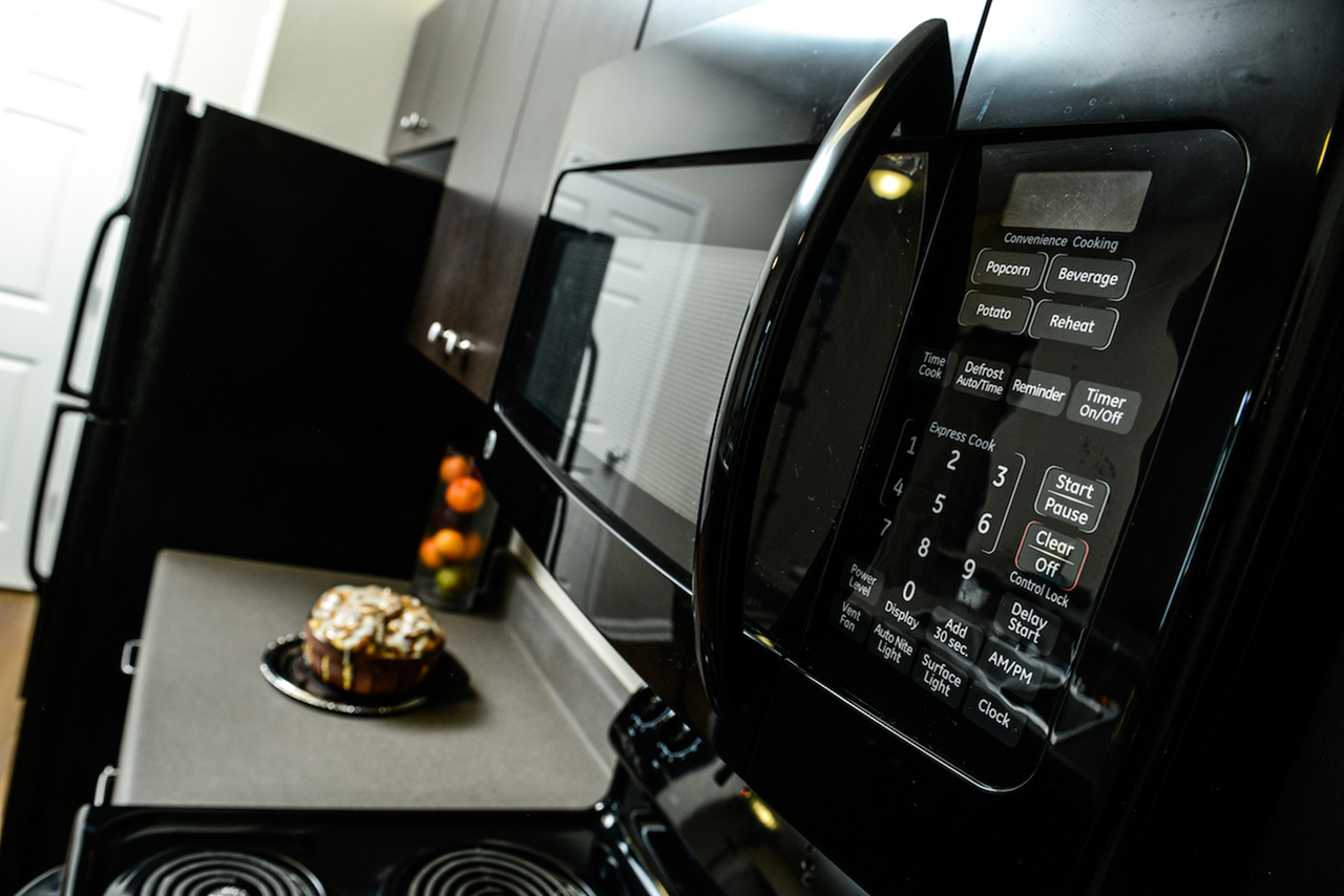 Image of Built-In Microwave for Independence Place Prince George