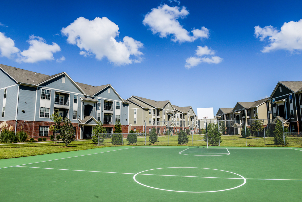 Image of Basketball Court for Independence Place West Fayetteville