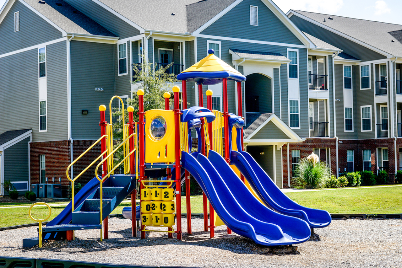 Image of Playground for Independence Place West Fayetteville