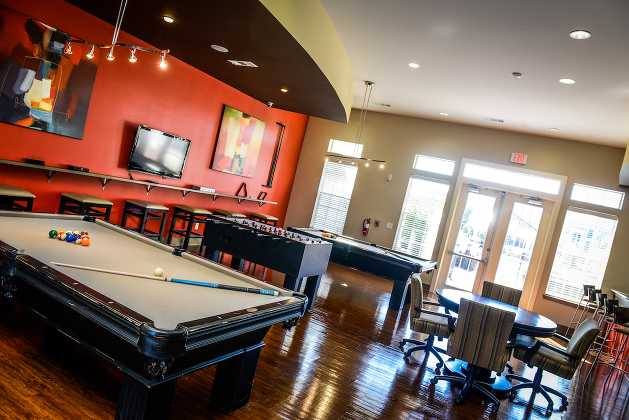 Image of Game Room with Billiards for Independence Place West Fayetteville
