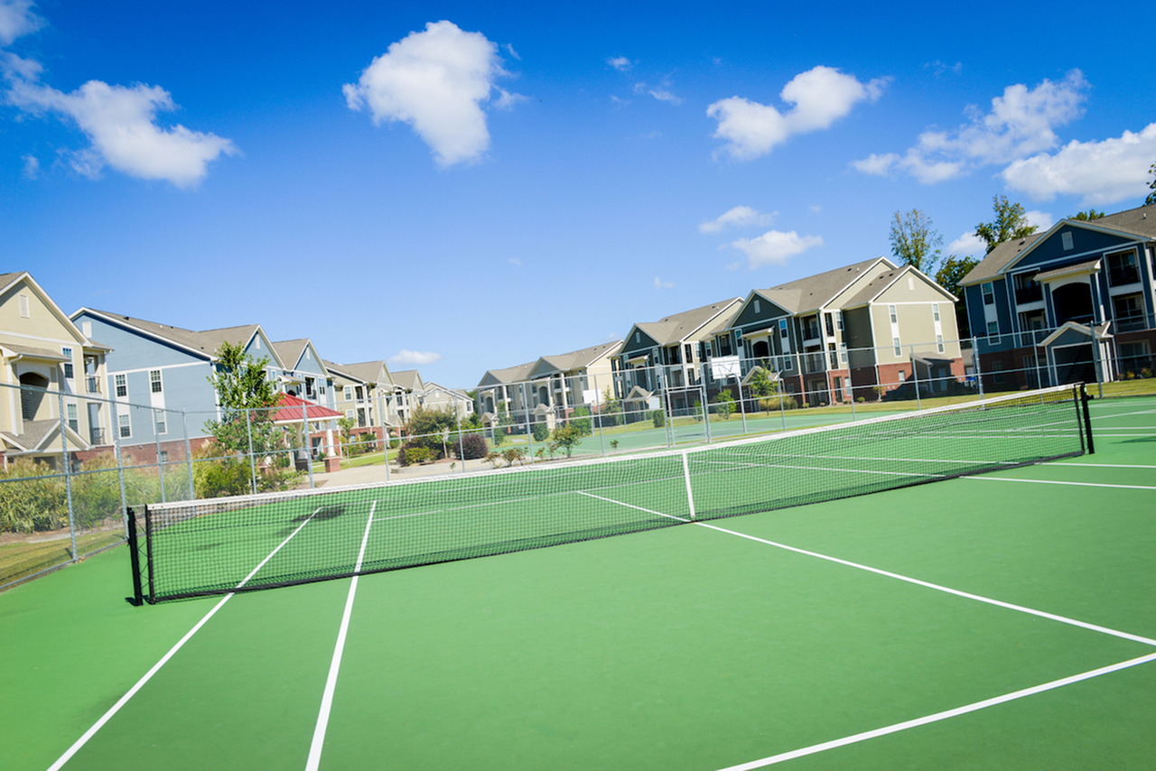 Image of Tennis Courts for Independence Place West Fayetteville