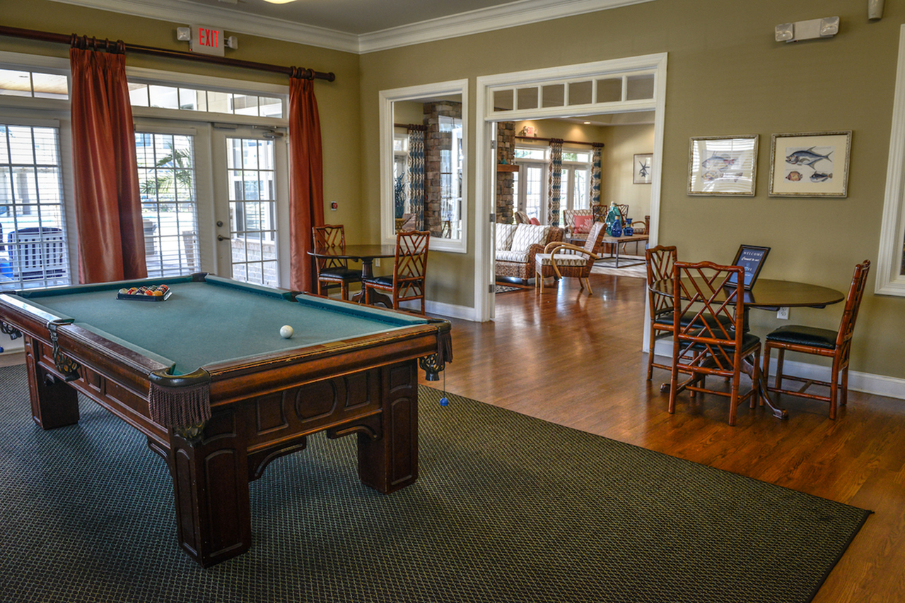 Image of Game Room with Billiards for Arlington West