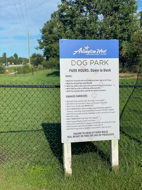 Image of Two Community Bark Parks for Arlington West