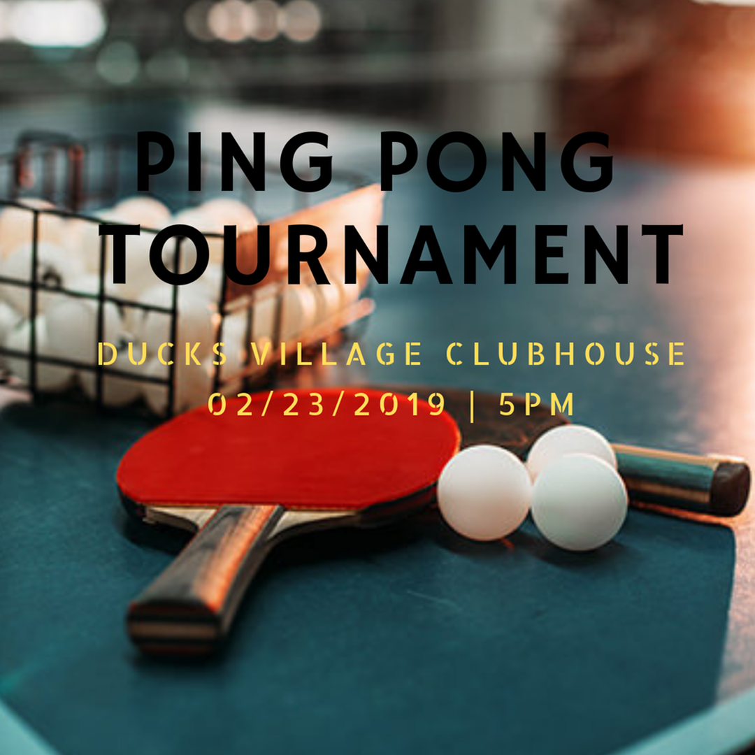 Ping Pong Tournament-image