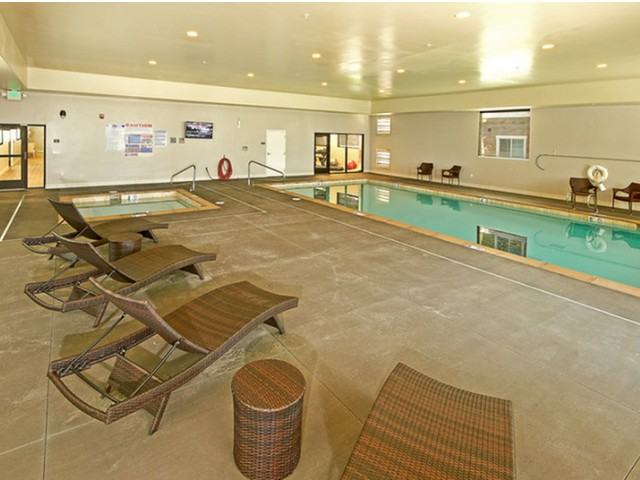Image of Indoor Swimming Pool for Legacy Cottages of South Jordan