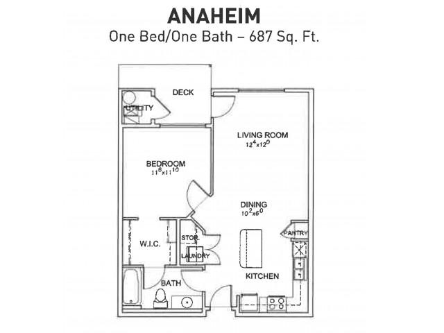 Anaheim 1x1
